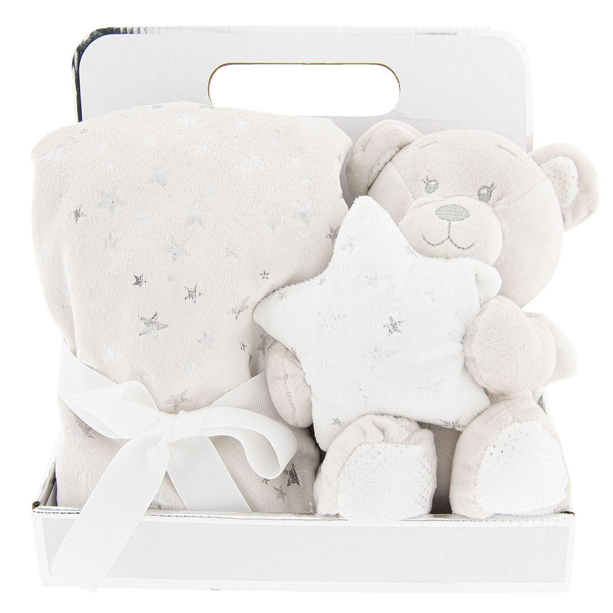 Dětský pléd a medvídek