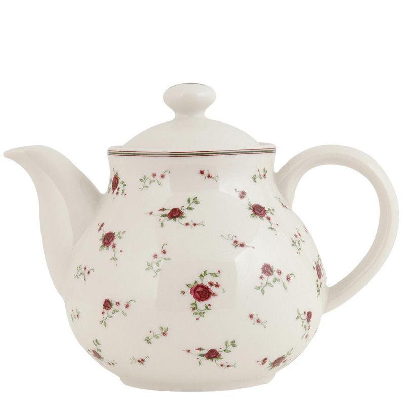 1- Keramická konvička na čaj LA PETITE ROSE