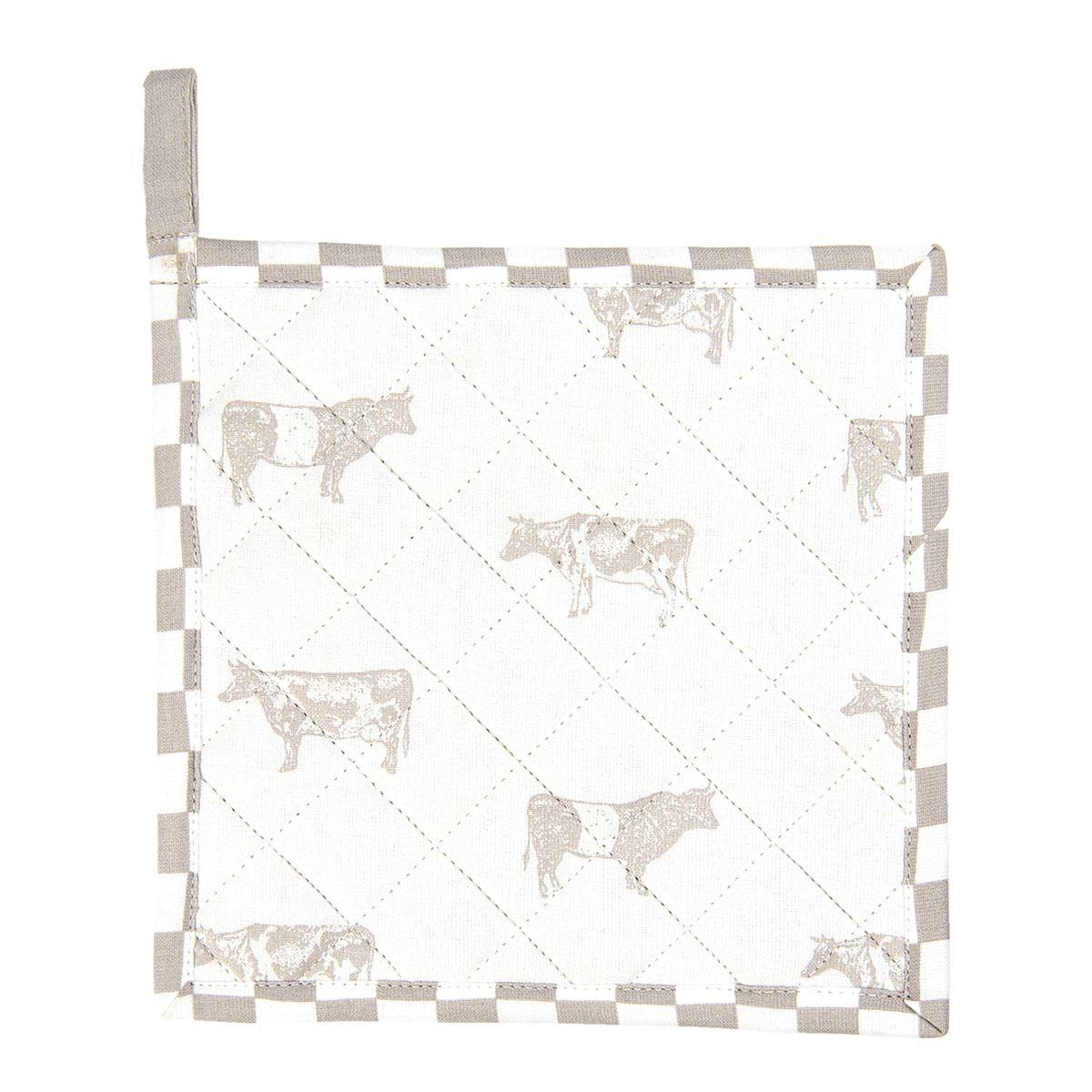 Podložka pod hrnec nebo chňapka LIFE WITH COWS 20*20 cm