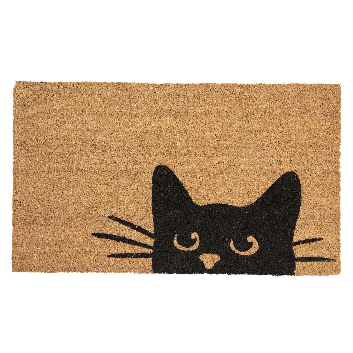 1- Rohožka  Cat 75*45*1 cm