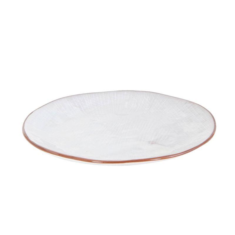 Keramický dezertní talíř LIV