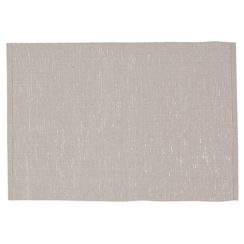 Textilní prostírání DARK BEIGE 48*33 cm - sada 6 kusů