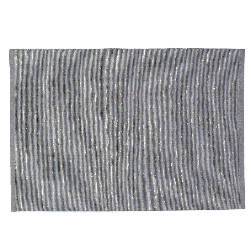 Textilní prostírání DARK GREY 48*33 cm - sada 6 kusů