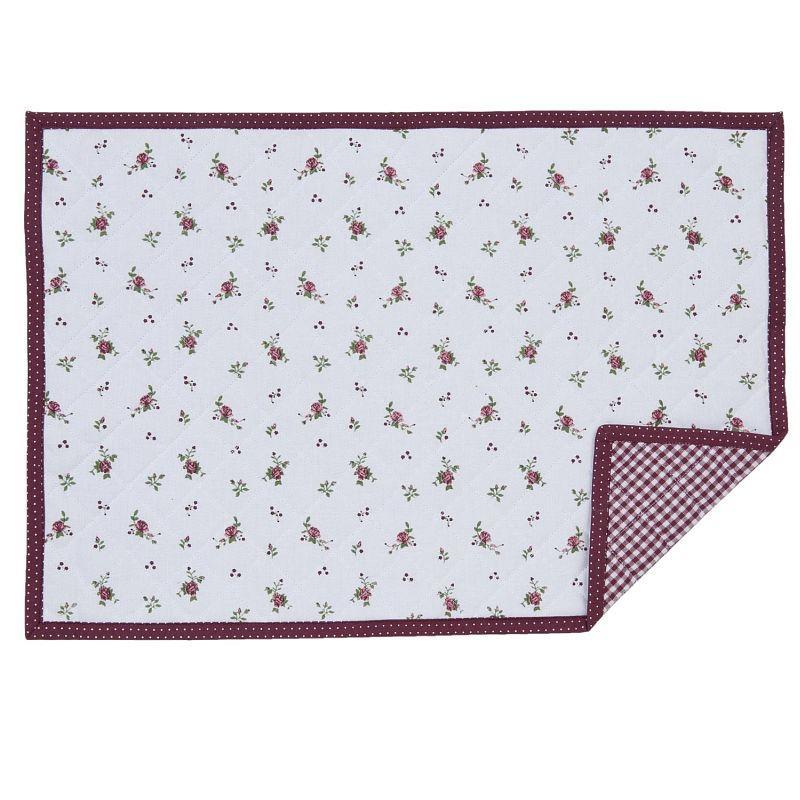 Textilní prostírání Roses Pour Louise 48*33 cm - sada 6 kusů