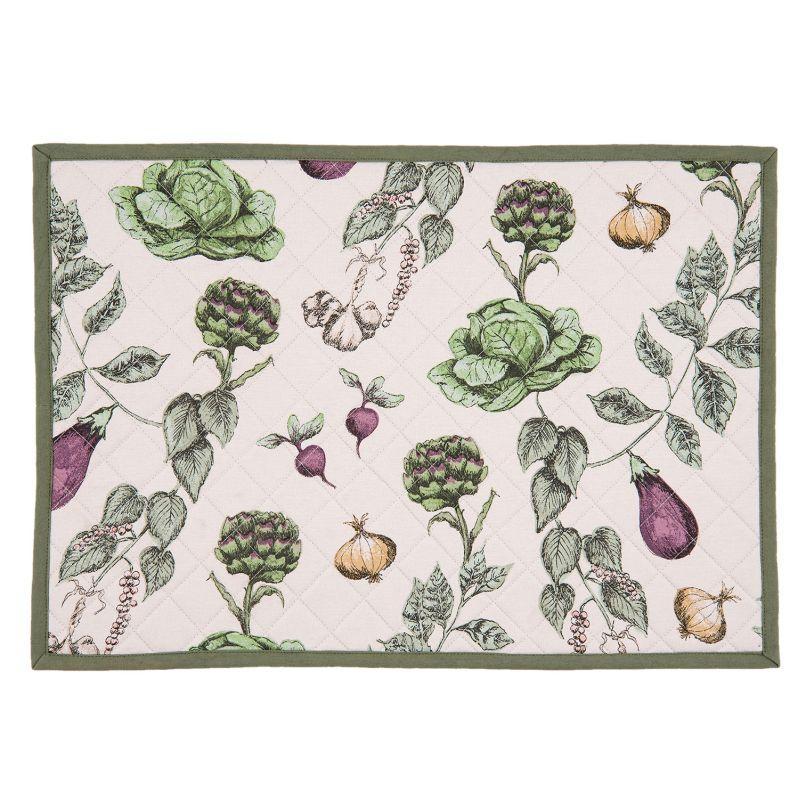 Textilní prostírání THE KITCHEN GARDEN 48*33 cm - sada 6 kusů