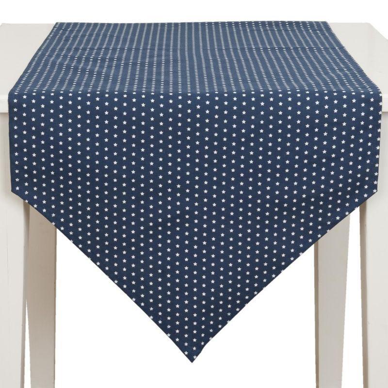 Běhoun na stůl TWINKLE LITTLE STAR blue 50*160 cm