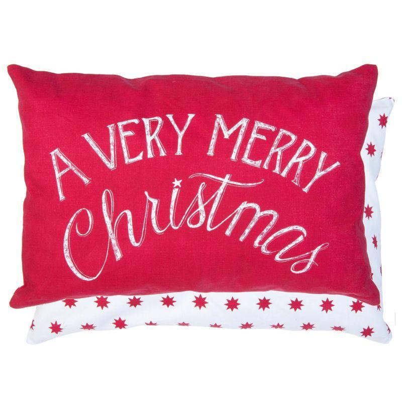 Polštář s výplní Very Merry Christmas 50*35 cm